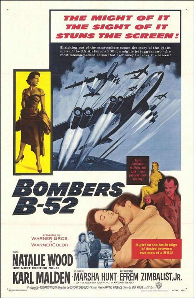 Bombers B-52 Poster