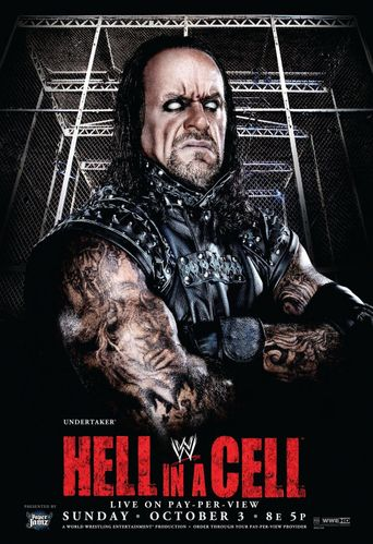 WWE Hell In A Cell 2010 Poster
