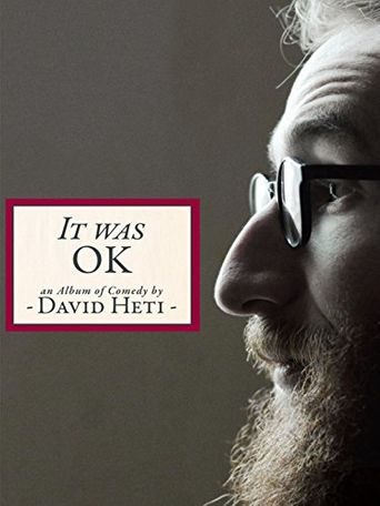 It Was OK: An Album of Comedy by David Heti Poster