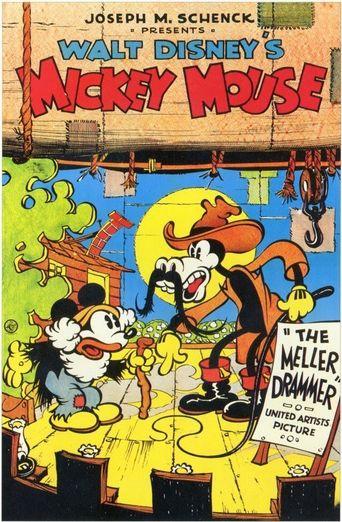 Mickey's Mellerdrammer Poster