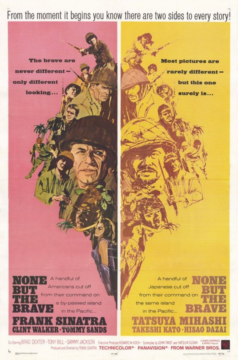 None but the Brave Poster