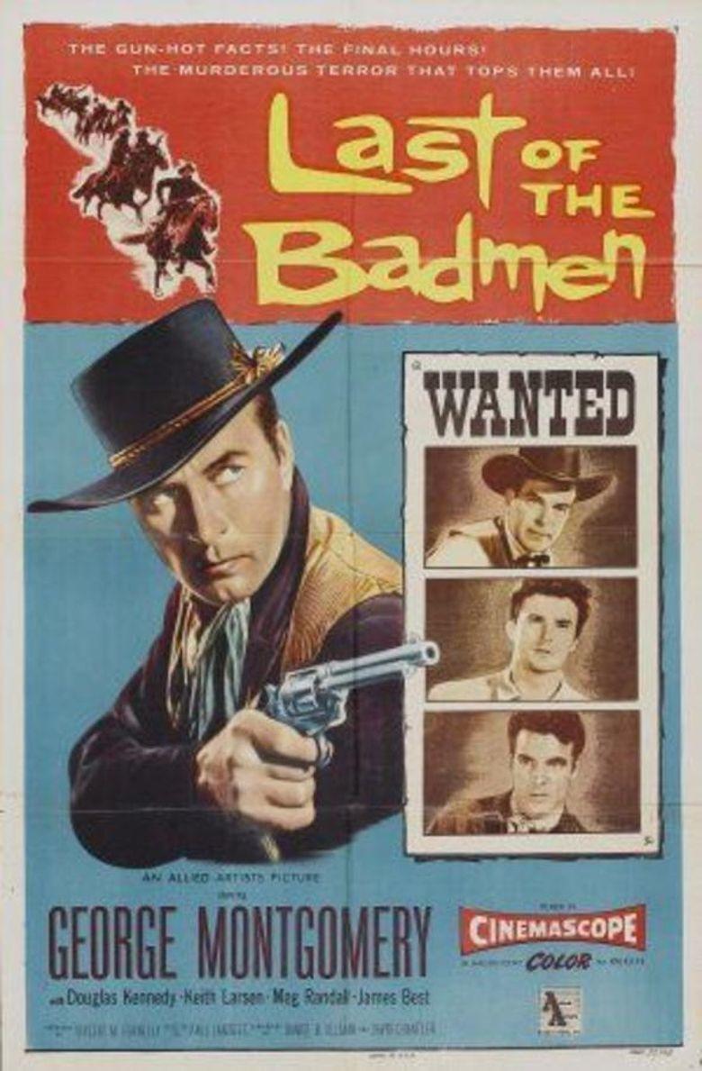 Last of the Badmen Poster