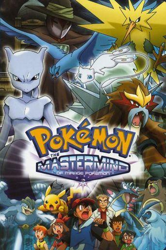 Pokémon: The Mastermind of Mirage Pokémon Poster