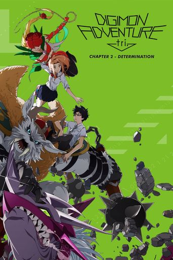 Digimon Adventure tri. Part 2: Determination Poster
