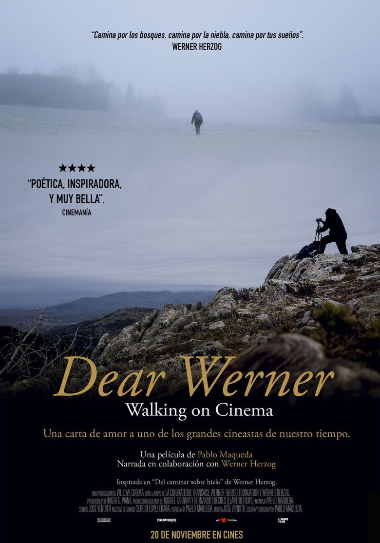 Dear Werner (Walking on Cinema) Poster