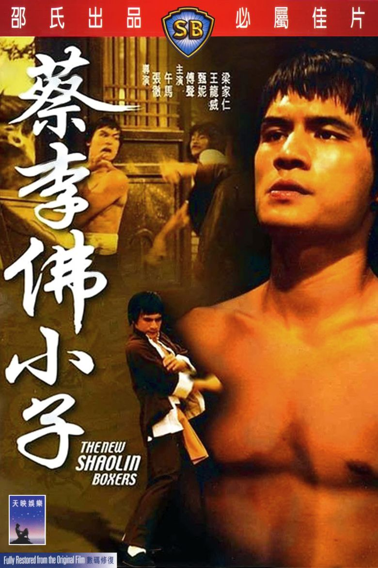 The New Shaolin Boxers Poster