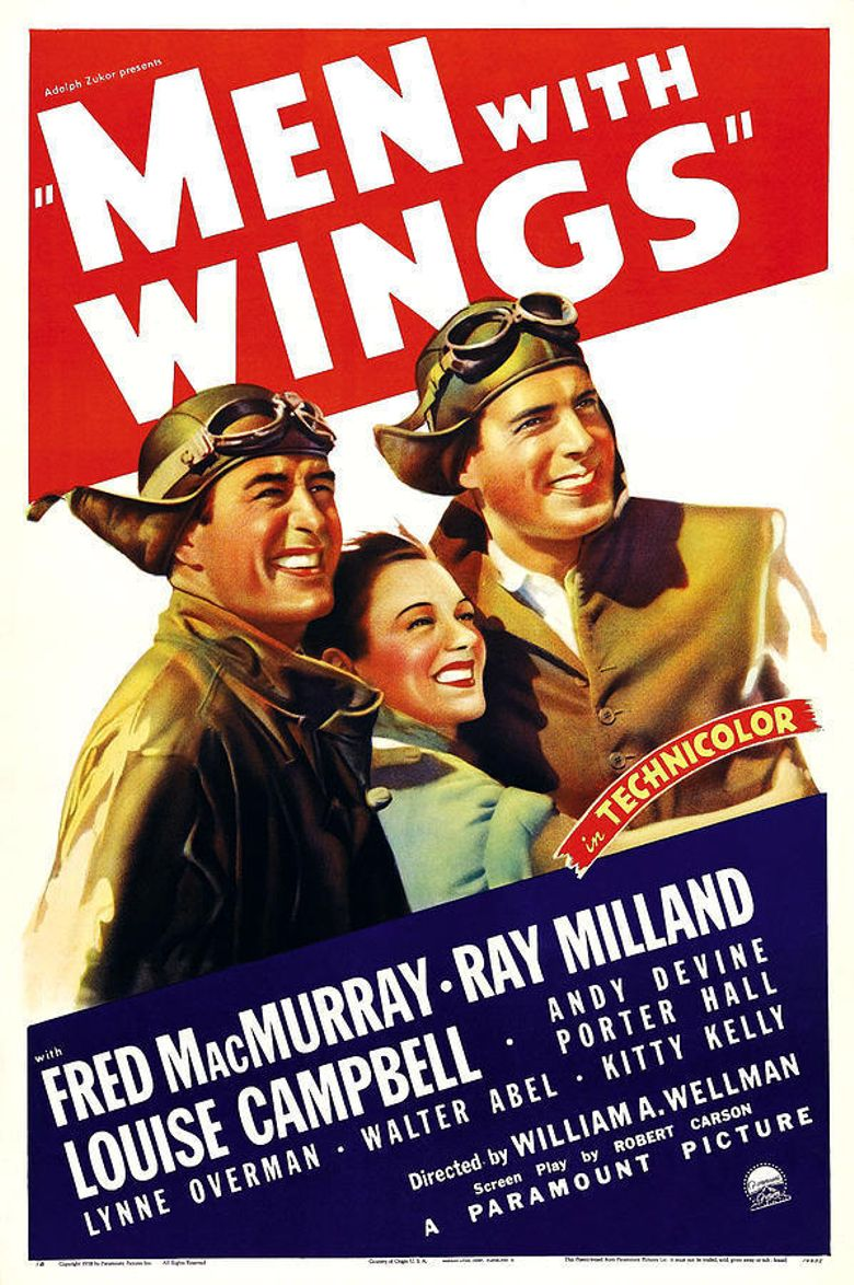 Men with Wings Poster