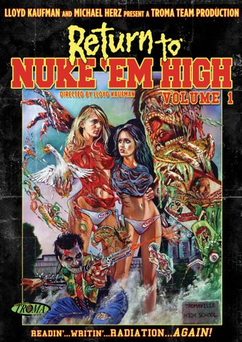 Return to Nuke 'Em High Volume 1 Poster