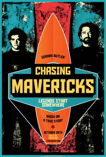 Chasing Mavericks Poster
