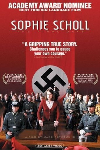 Sophie Scholl: The Final Days Poster