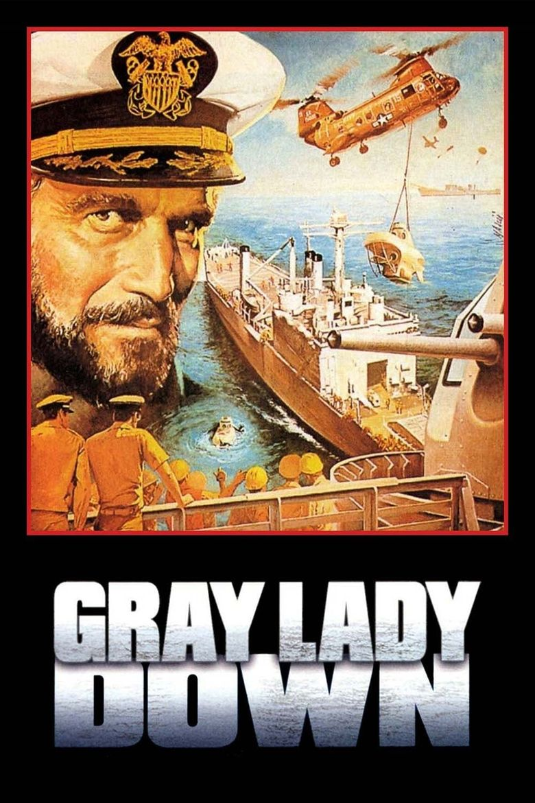 Gray Lady Down Poster