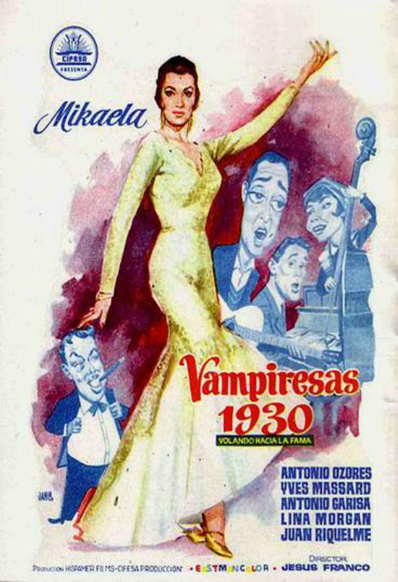 Vampiresas 1930 Poster
