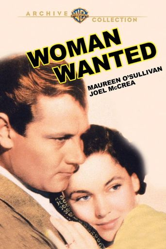 Woman Wanted Poster