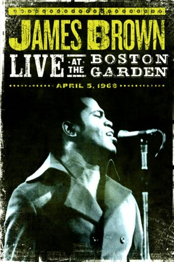 James Brown Live At The Boston Garden Poster