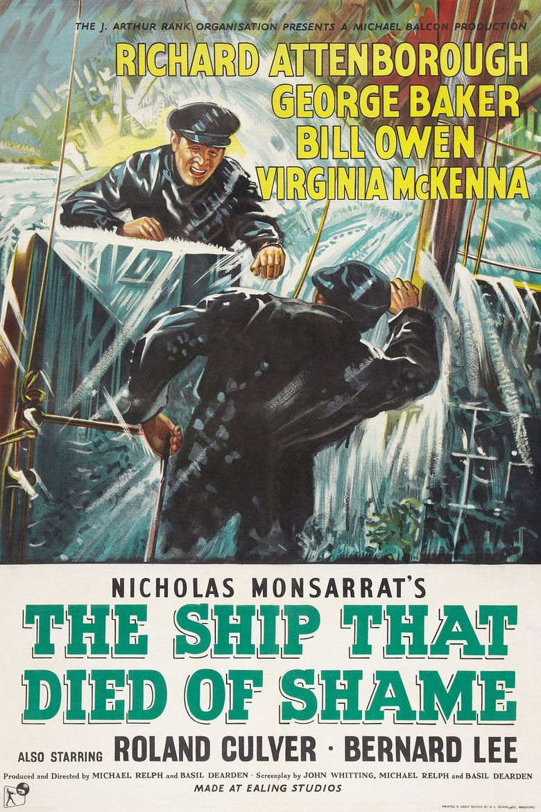 The Ship That Died of Shame Poster