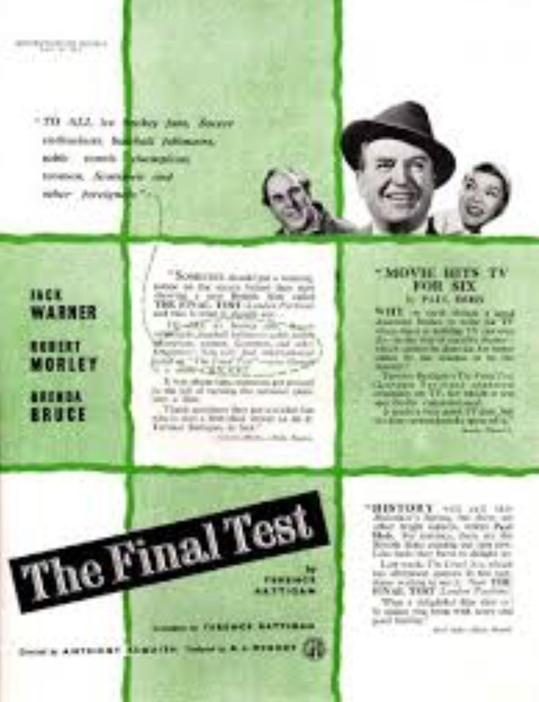 The Final Test Poster