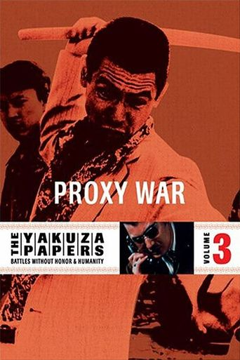The Yakuza Papers, Vol. 3: Proxy War Poster