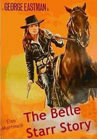 The Belle Starr Story Poster