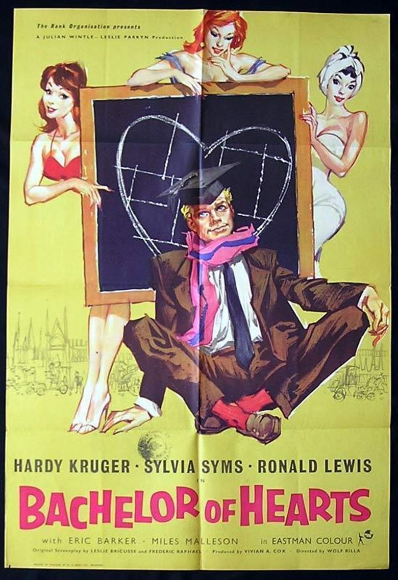 Bachelor of Hearts Poster