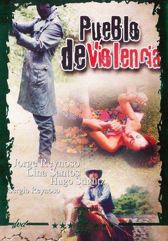 Pueblo de violencia Poster