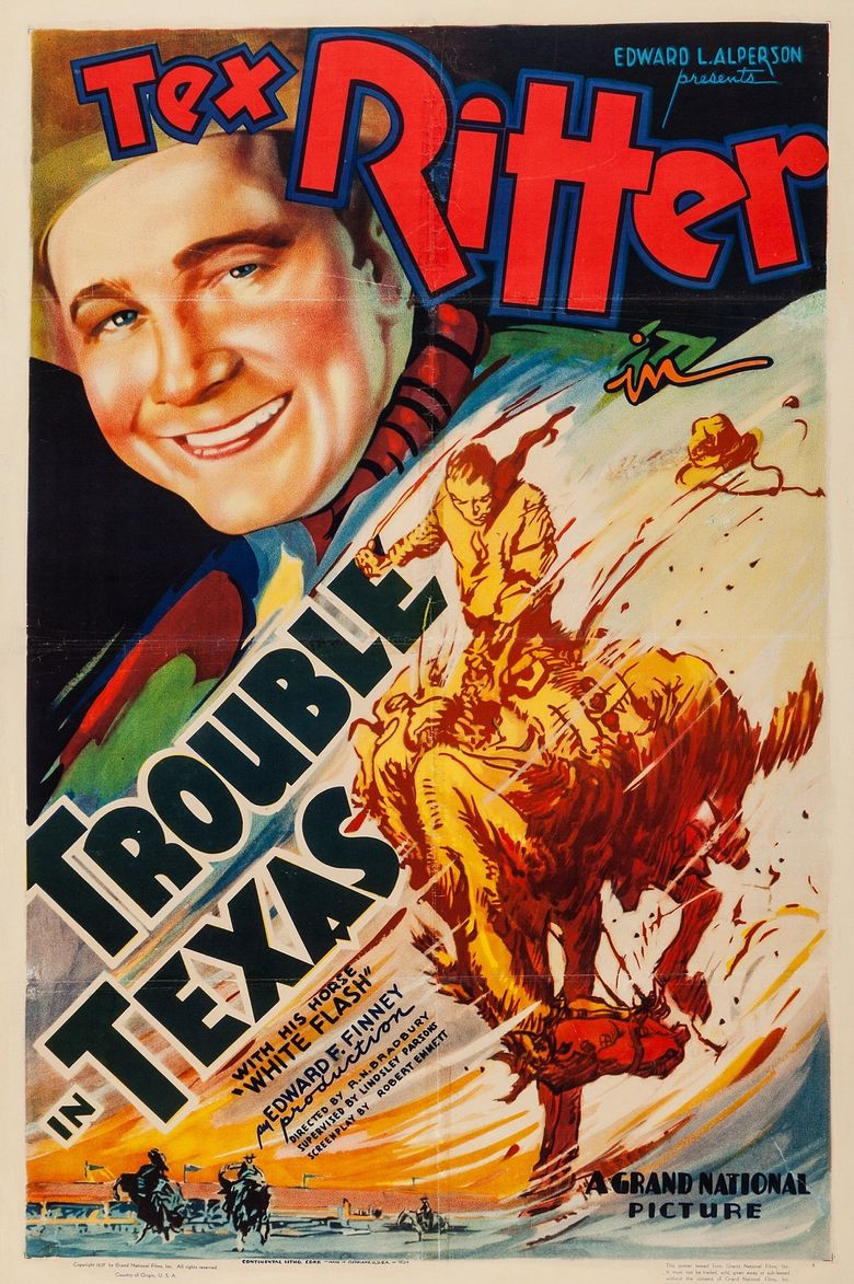 Trouble In Texas Poster