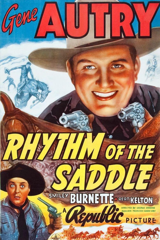 Rhythm of the Saddle Poster