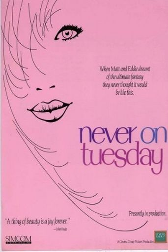 Never on Tuesday Poster