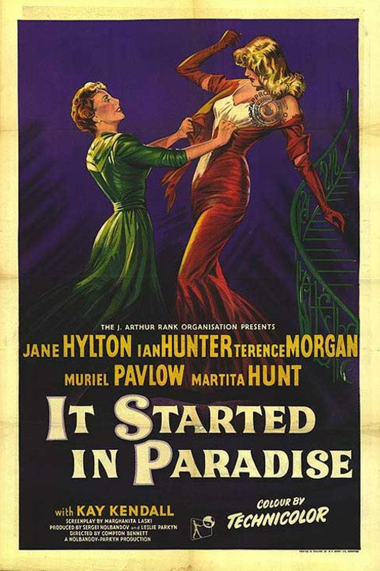 It Started in Paradise Poster
