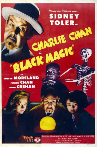 Charlie Chan in Black Magic Poster