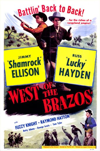 West of the Brazos Poster