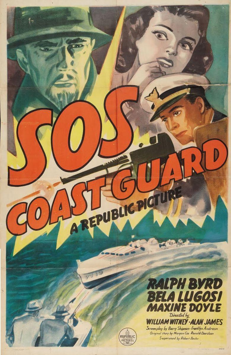 SOS Coast Guard Poster