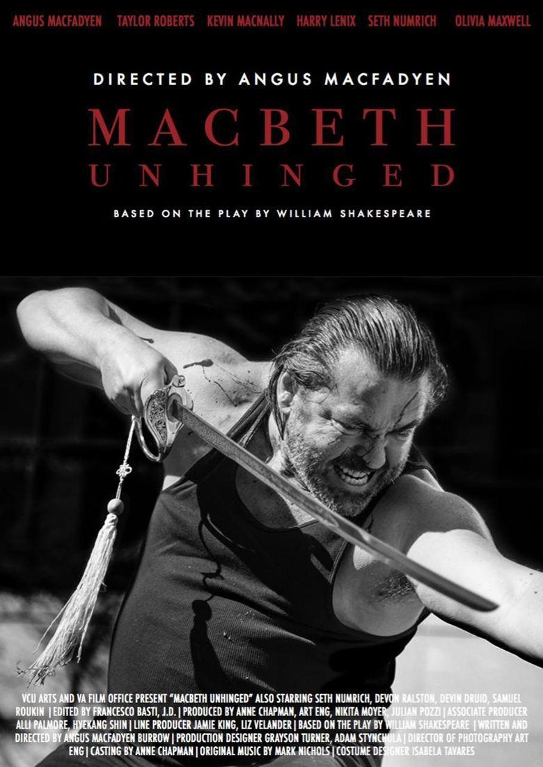 Macbeth Unhinged Poster