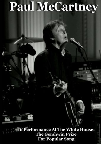 Paul McCartney In Performance at the White House Poster