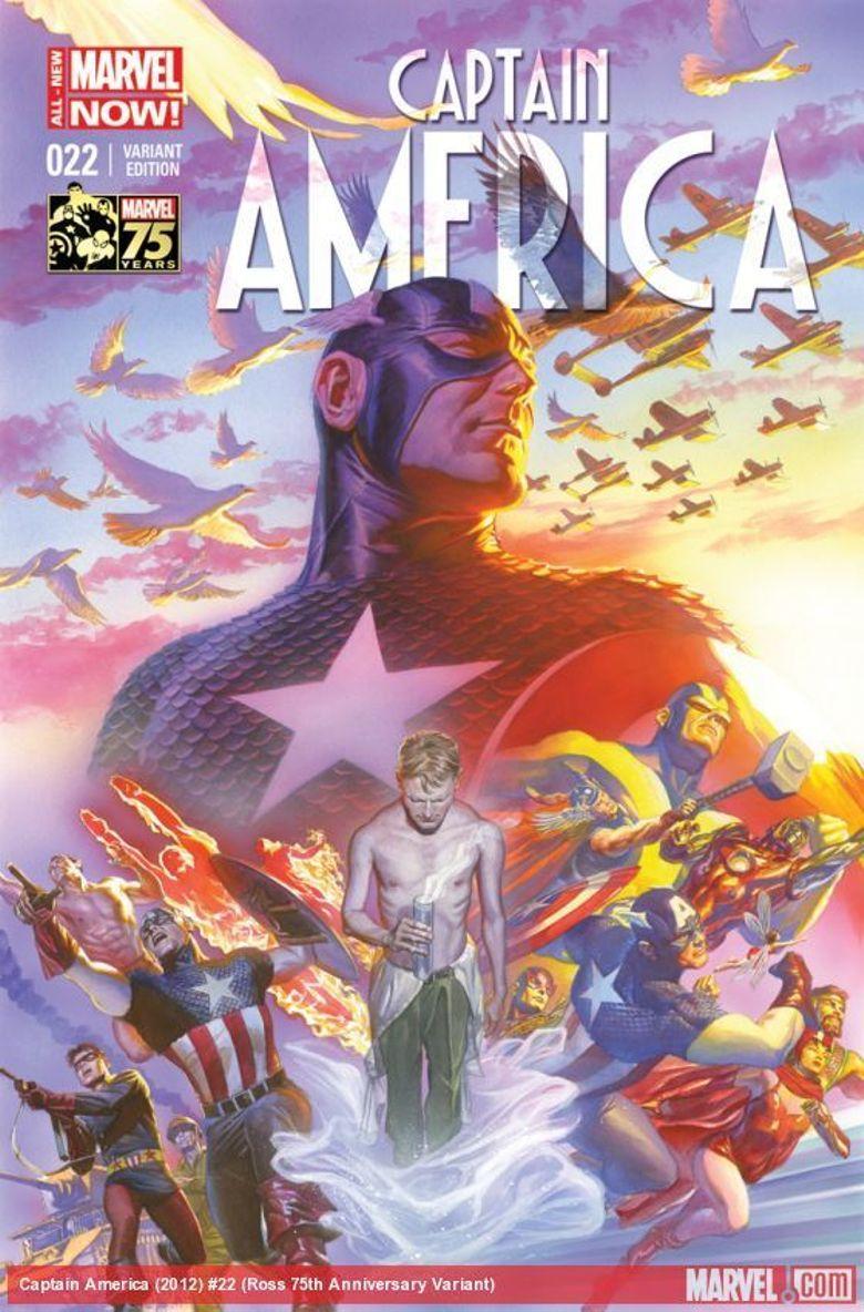 Marvel's Captain America: 75 Heroic Years Poster