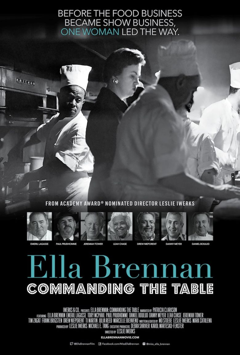 Ella Brennan: Commanding the Table Poster