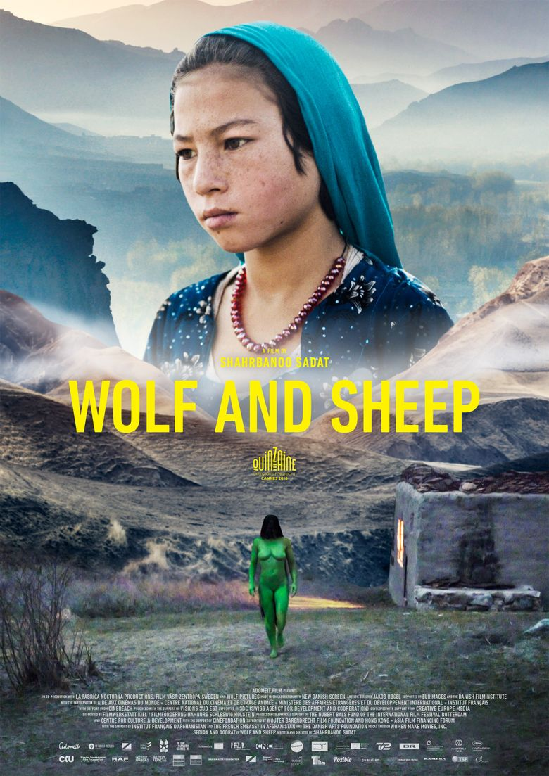 Wolf and Sheep Poster