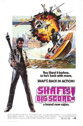 Shaft's Big Score! Poster