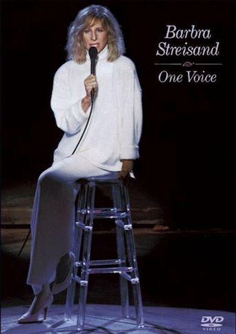 Barbra Streisand: One Voice Poster