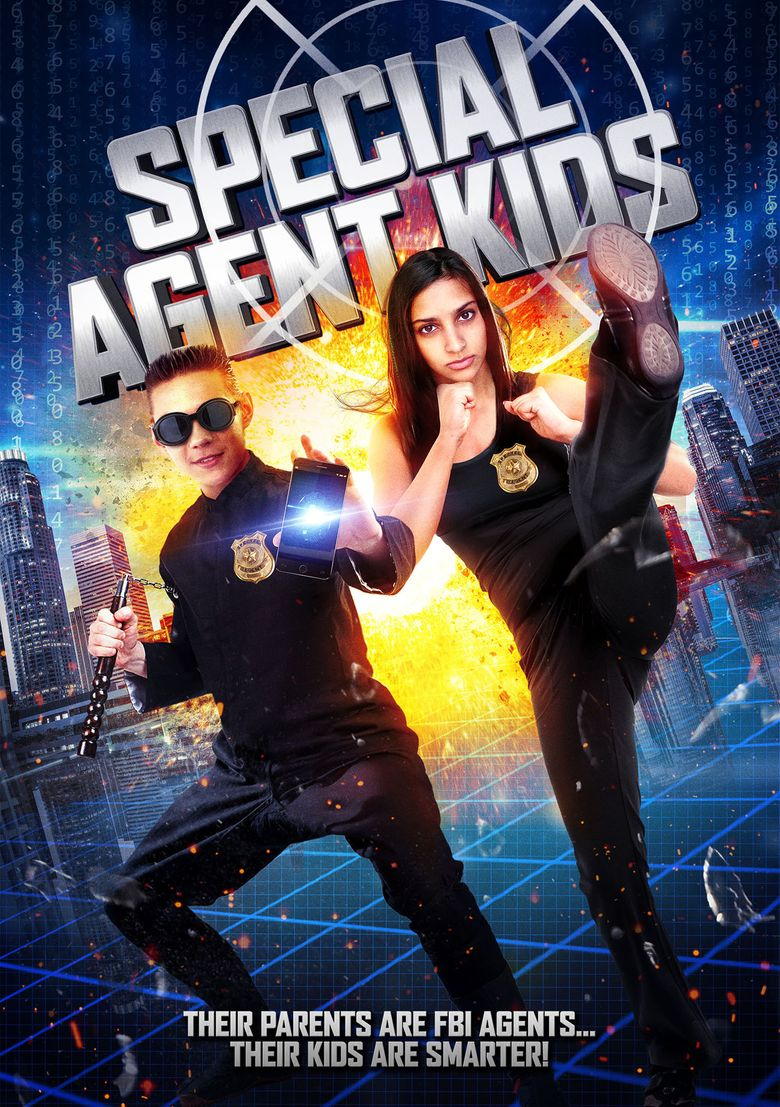 Special Agent Kids Poster