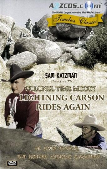 Lightning Carson Rides Again Poster