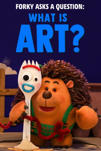 Forky Asks a Question: What Is Art? Poster
