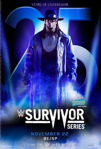 WWE Survivor Series 2015 Poster
