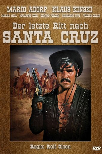 The Last Ride to Santa Cruz Poster