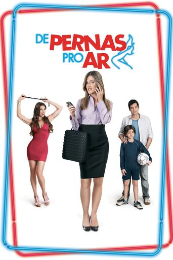 De Pernas Pro Ar Poster
