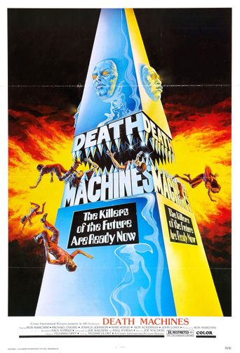 Death Machines Poster