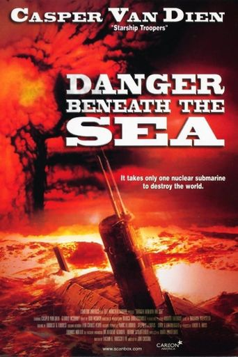 Danger Beneath the Sea Poster