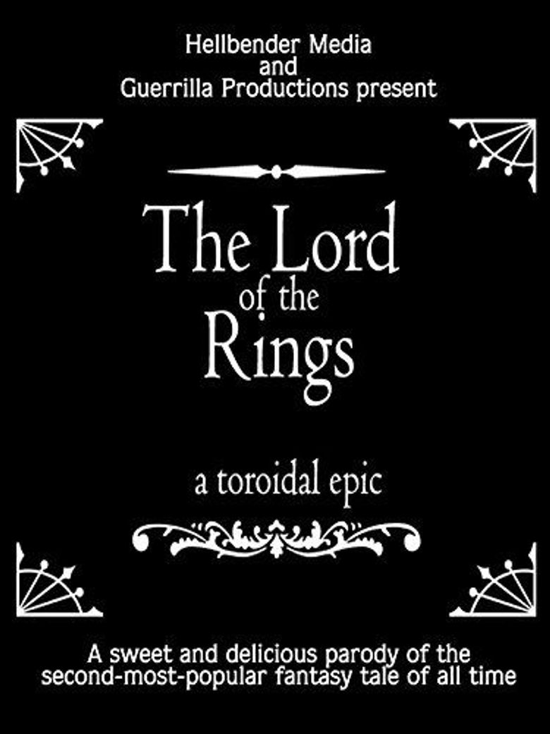 The Lord of the Rings: A Toroidal Epic Poster
