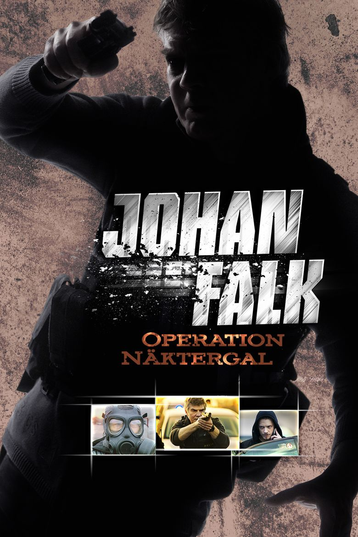Johan Falk: Operation Näktergal Poster