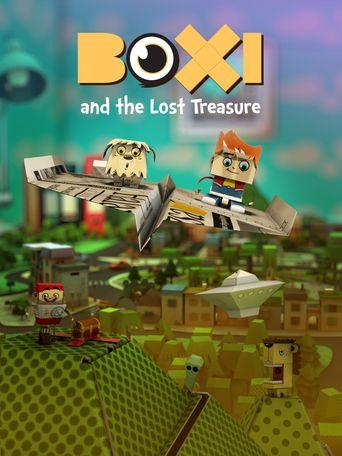 Boxi and the Lost Treasure Poster