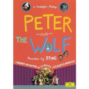 Peter and the Wolf: A Prokofiev Fantasy Poster